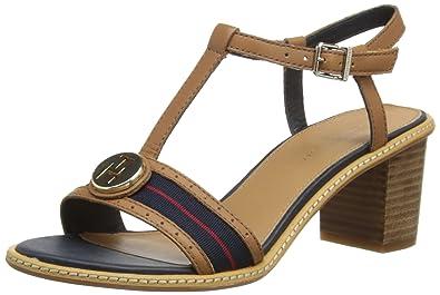 54099f7d9 Tommy Hilfiger Womens Jody 2A Fashion Sandals FW56816792 Summer Cognac 4  UK