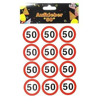 Udo Schmidt Verkehrszeichen Aufkleber Sticker Zum 50