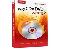 Roxio Easy CD & DVD Burning 2 | Disc Burner & Video Capture [PC Disc]