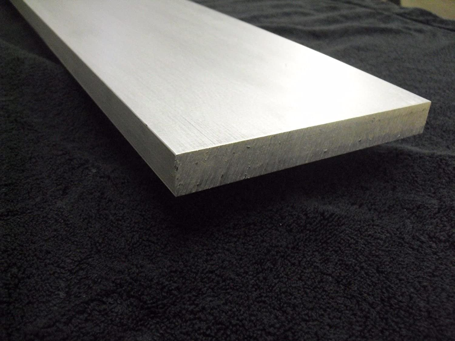 "1/"" x 1-1//2/"" x 12/""-Long 6061 T6511 Aluminum Flat Bar--/>1/"" x 1.5/"" 6061 MILL STOCK"