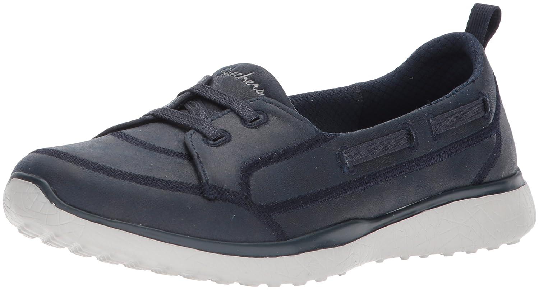 Skechers Women's Microburst Dearest Sneaker B0748D2TC1 5 B(M) US Navy