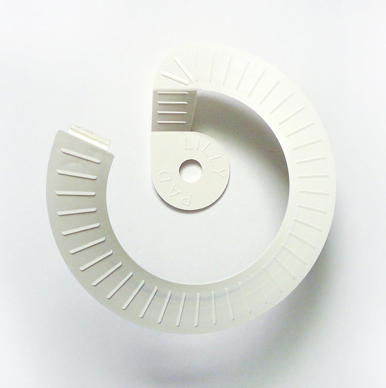 Critter Skimmer SPJC014 10-Inch Round Pool Skimmer Cover White