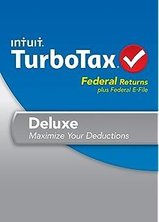 Amazon com: TurboTax Premier + State 2018 Tax Software [PC