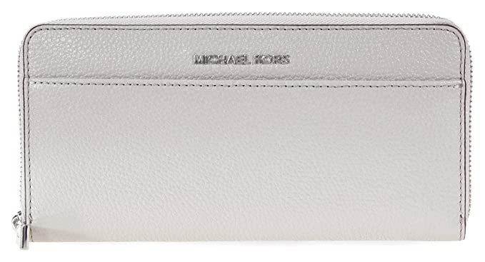 5b2a99903ff5 MICHAEL by Michael Kors Money Pieces Pearl Grey Pocket Continental Wallet  one size Pearl Grey  Amazon.co.uk  Clothing