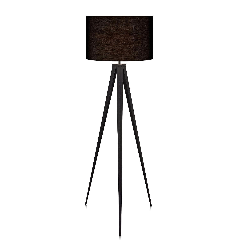 Amazon Versanora Romanza Tripod Floor Lamp in Black fice