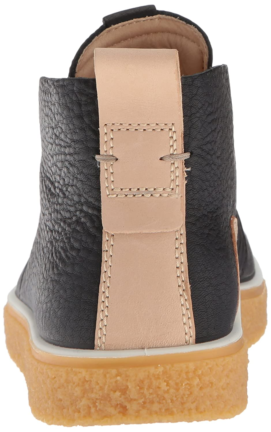 ECCO Women's Women's Crepetray Bootie Ankle Boot B074DNPS85 40 Medium EU (9-9.5 US)|Black/Powder