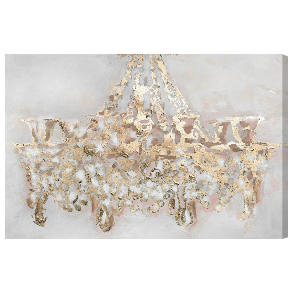 Candelabro' Contemporary Canvas Wall Art Print for Home Decor and Office. The Classic Wall Decor Collection by The Oliver Gal Artist Co. Gallery Wrapped and Ready to Hang. 60x40 inch by The Oliver Gal Artist Co.