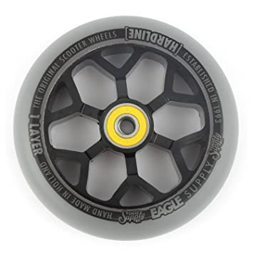 Eagle Supply Rueda para Scooter Individual H-Line 6M Sewercaps - 110Mm Negro-Gri (Default, Gris): Amazon.es: Deportes y aire libre