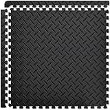 FIELDOOR トレーニング エクササイズ用ジョイントマット 防音 キズ防止