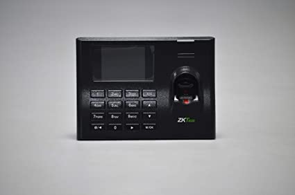 ZKTeco Time Attendance Terminal K13 Pro with 500 Fingerprint Capacity ,  100000 Record Capacity (Black)