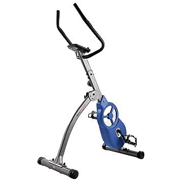 Ultrasport, Gris Oscuro/Azul Bicicleta estática F-Bike 600 Pro ...