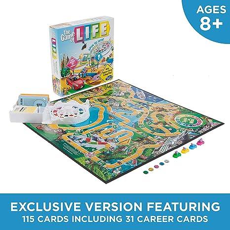 Iu El Juego de Mesa Game of Life: Amazon.es: Deportes y aire libre