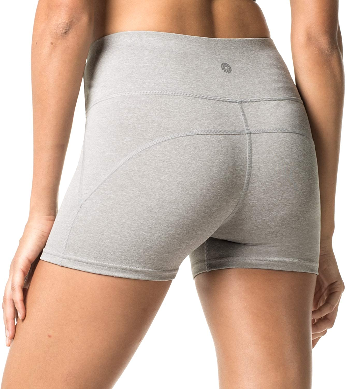 LAPASA Short Sport Femme Yoga Fitness Running Gym Élastique Stretch ... 753c891aa66
