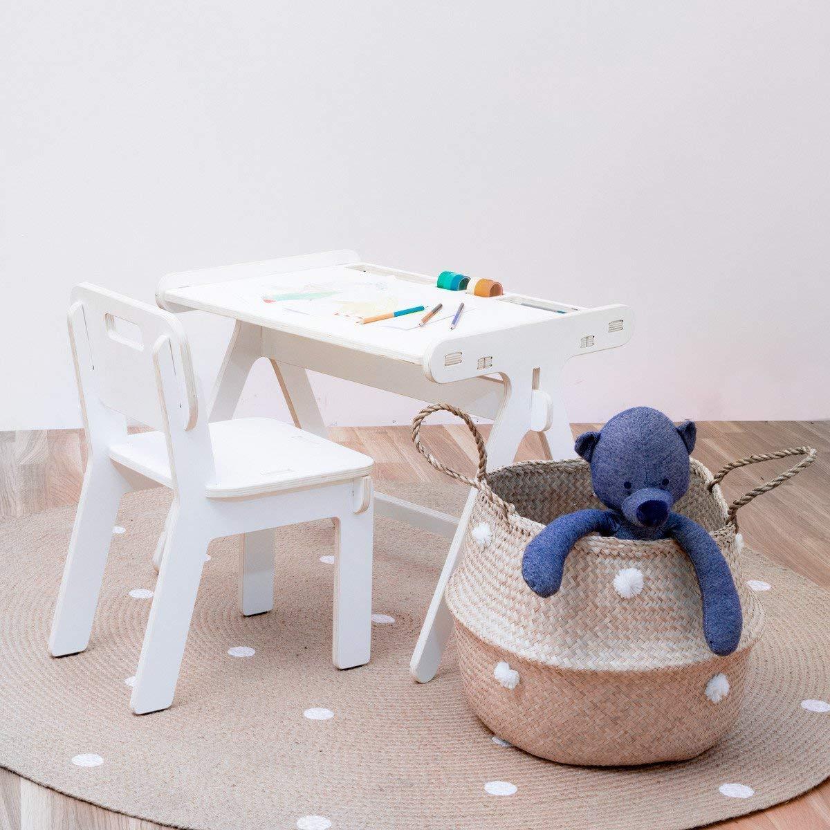 Silla cuadra para niños Montessori - Decorar con muebles ...