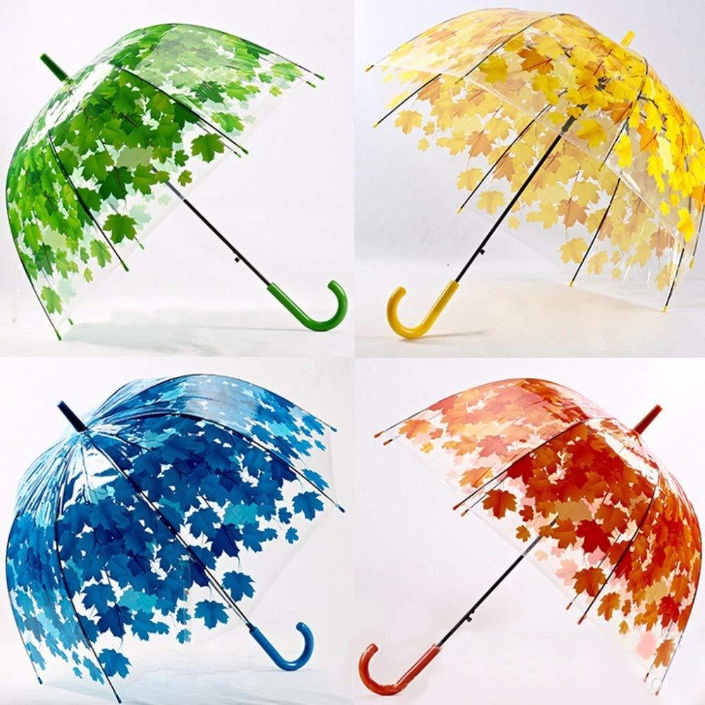 Paraguas de hojas