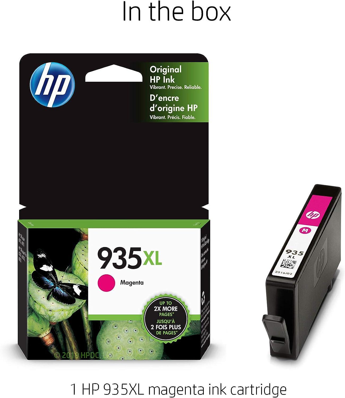 CNY Toner 5 Packs Compatible HP C2P25AN//935XL Remanufactured Inkjet Magenta