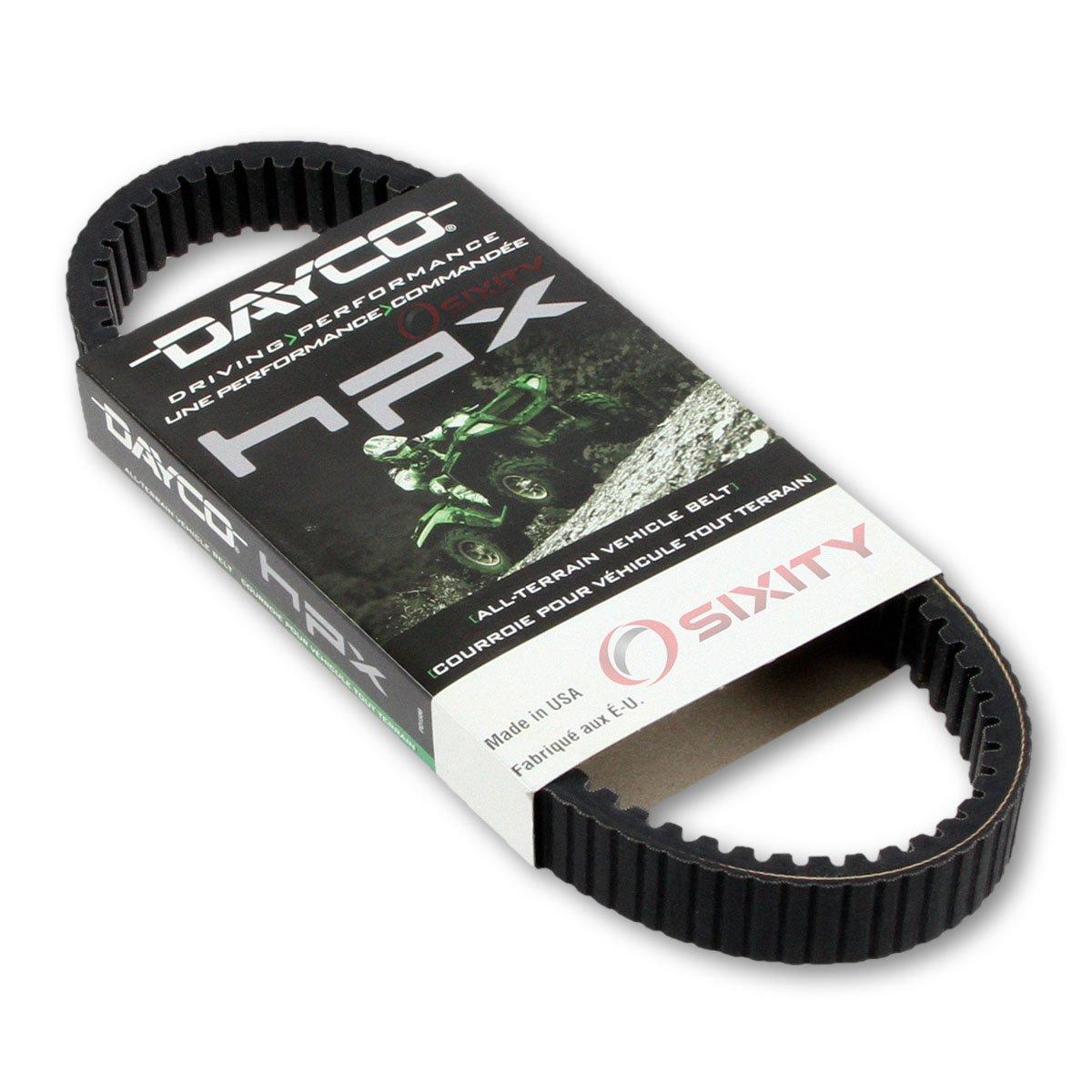 2001-2005 Polaris Sportsman 400 Drive Belt Dayco HPX W/O EBS ATV OEM Upgrade Replacement Transmission Belts