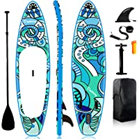 Paddle Board Inflatable Paddle Boards for Adults - inflatable paddle board 10.6ft×32in×5in Stand Up Paddle Board for…