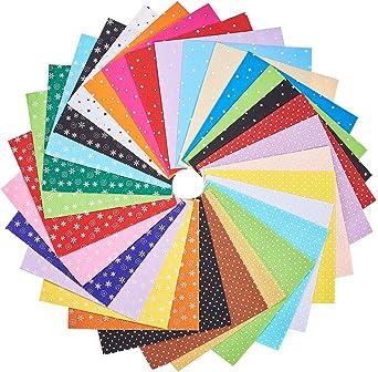 Fieltro Estampado Suave Craft Surtido Pack-Colores Surtidos