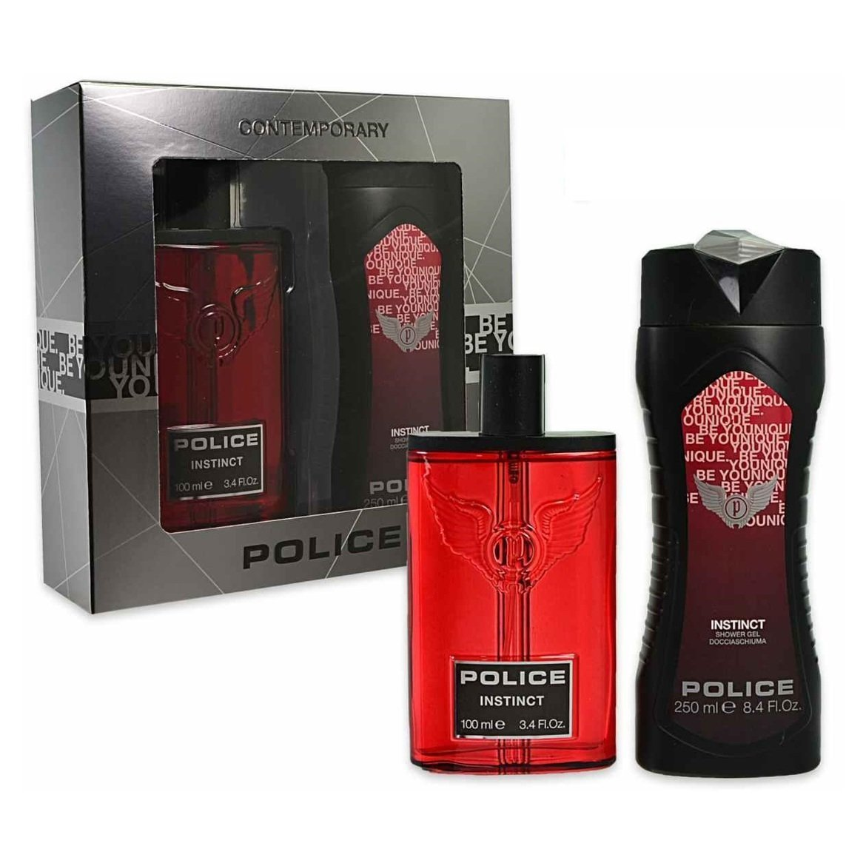 Police Instinct Eau de Toilette spray/gel doccia, 350ml 679602287043