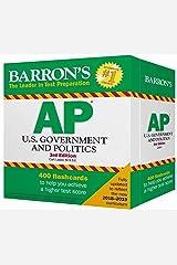 AP U.S. Government and Politics Flash Cards (Barron's Test Prep) Cards