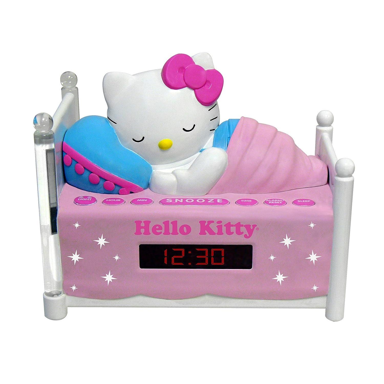 Amazon HELLO KITTY KT2052A Alarm Clock Radio With Night Light Home Audio Theater