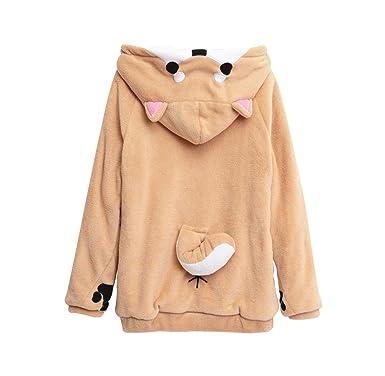 Jtomoo Women Hoodies Cute Dog Shiba Inu 3D Hoodies Girls Casual Breathable Sweatshirt
