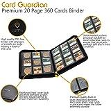 Card Guardian - 9 Pocket Premium Black Binder