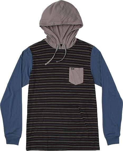 RVCA Mens Set Up Hooded Shirt