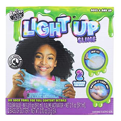 Anker Play Deluxe Slime Kit | Light-Up: Toys & Games