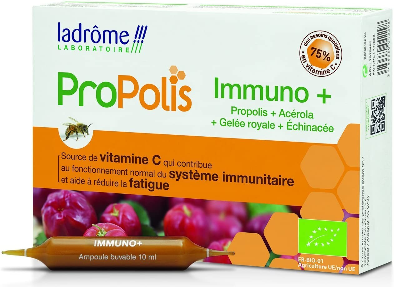 Ladrôme - Complejo Immuno ProPolis - 10 ampollas