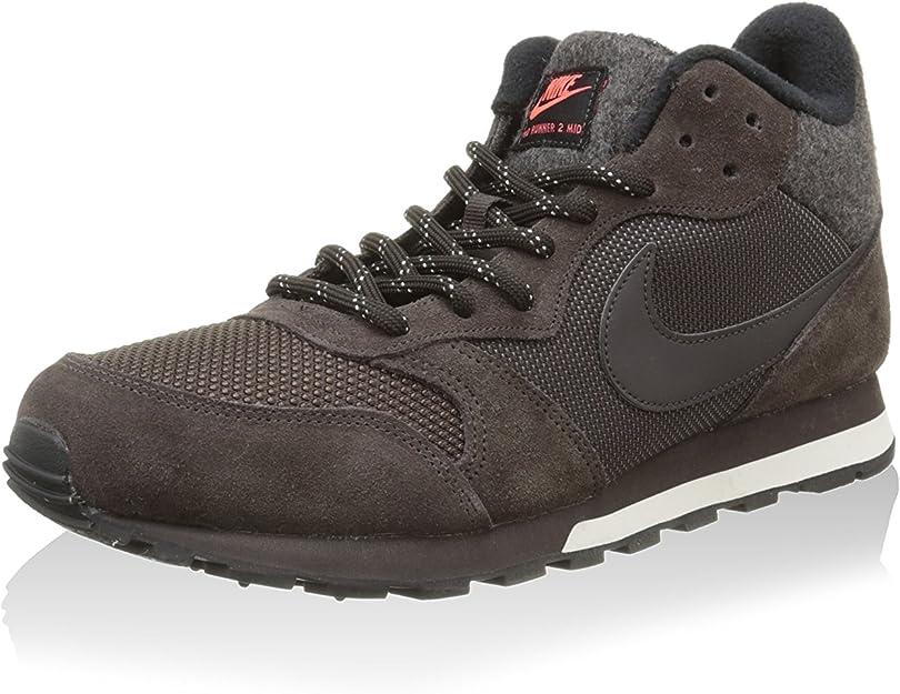 Nike Herren Md Runner 2 Mid Laufschuhe, Lima Braun