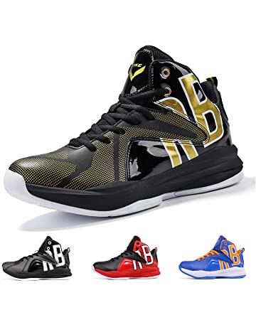 deefd0533d1 WETIKE Kid s Basketball Shoes High-Top Sneakers Outdoor Trainers Durable Sport  Shoes(Little Kid