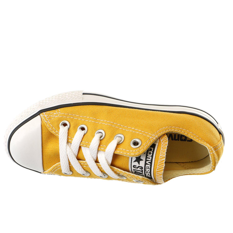 Converse Chuck Taylor All Star Oxford Fashion Sneaker Shoe Solar Orange Boys 12