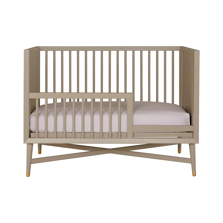 amazoncom  dwellstudio midcentury crib in french grey  baby -