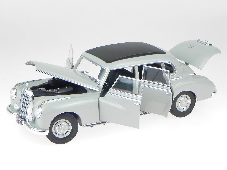Mercedes 300 1955 grau beige Modellauto 183578 Norev 1:18