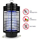 Mosquito Killer Bug Zapper Trap, Wrcibo Electronic Insect Killer Photocatalyst Fly Zapper UV light Trap Lamp for Standing or Hanging Indoor Outdoor