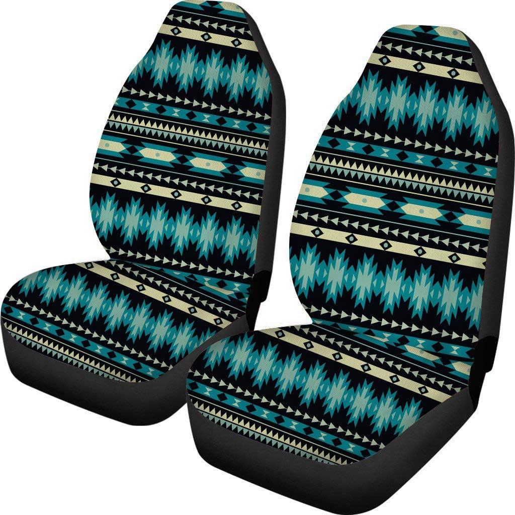 POLERO Saddle Blanket Wonderful Design Car Seat Covers for Women Men Durable Elastic Car Seats Protector