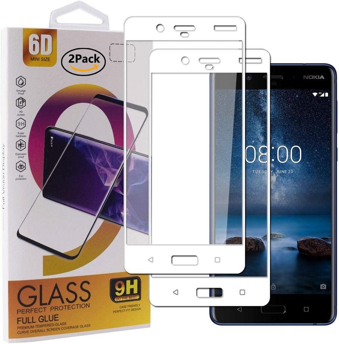 Guran [2 Paquete Protector de Pantalla para Nokia 7 Plus ...