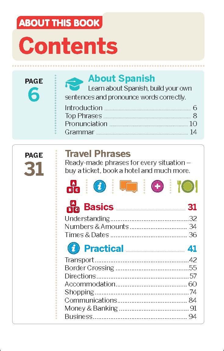 Lonely Planet Spanish Phrasebook & Dictionary: Amazon.co.uk: Lonely Planet,  Marta Lopez, Cristina Hernandez Montero: 9781786574510: Books