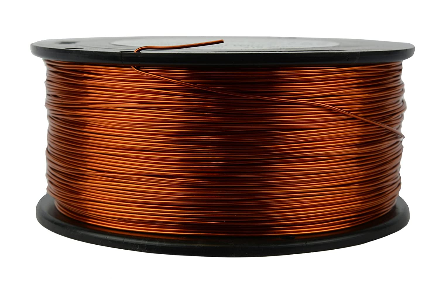 Temco 8 Awg Copper Magnet Wire 1 Lb 20 Ft 200c Magnetic Coil Winding Wiring Transformer Home Improvement