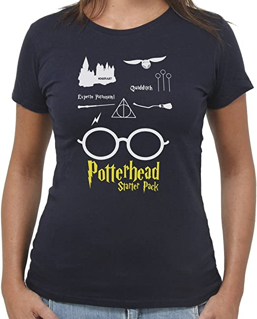 by New Indastria T-Shirt Harry Potter Potterhead Starter Pack