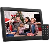 Amazoncom Aluratek Adpf08sf 8 Inch Digital Photo Frame Black