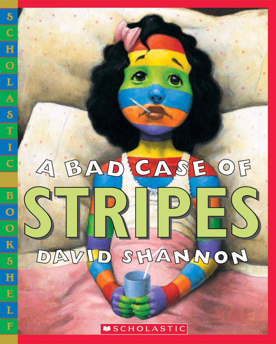 A Bad Case of Stripes (Scholastic Bookshelf): Amazon.co.uk: Shanin ...