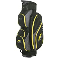 Powakaddy Deluxe Edition Cart Bag - Black Yellow