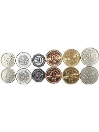 Lebanon 6 Coins Set 1995-2018 UNC 25-50 LIVRES Collectible Coins