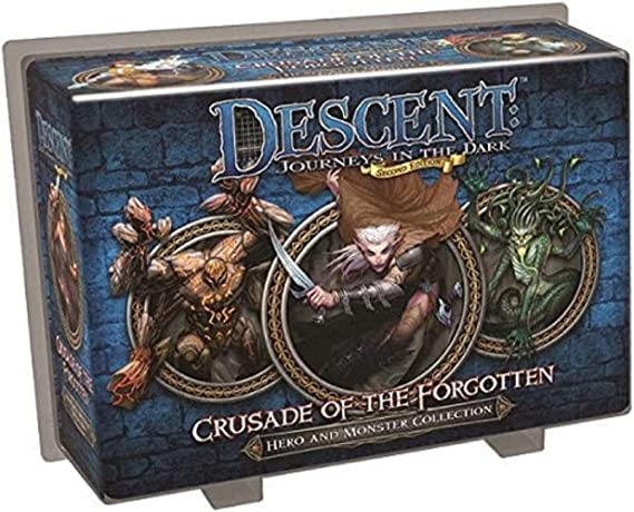Fantasy Flight Games Descent Journeys in the Dark Second Edition Expansion Crusade of the Forgotten: Amazon.es: Juguetes y juegos