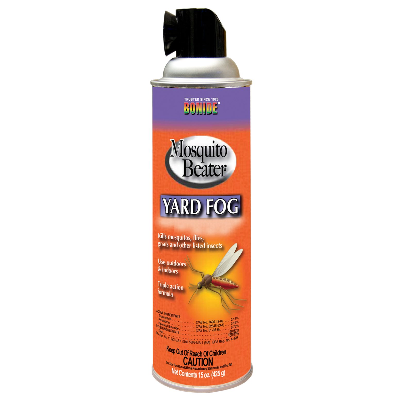 Bonide Chemicale Mosquito Beater Yard Fog, 15-Ounce