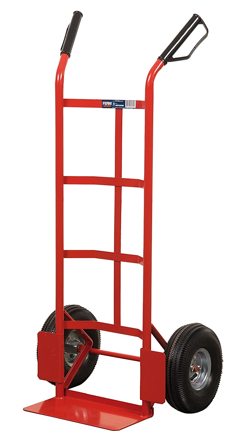FERM TTM1028 Hand Truck - Max. 225 Kg- 350x180mm - With Ball bearing wheels