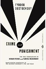 Crime and Punishment: Pevear & Volokhonsky Translation (Vintage Classics) Paperback